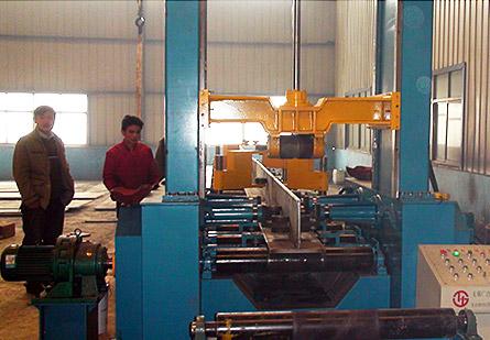 HG-18000型钢自动组立机